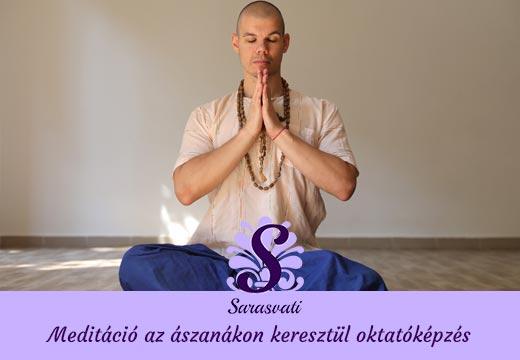 Meditáció az ászanákon keresztül oktatóképzés