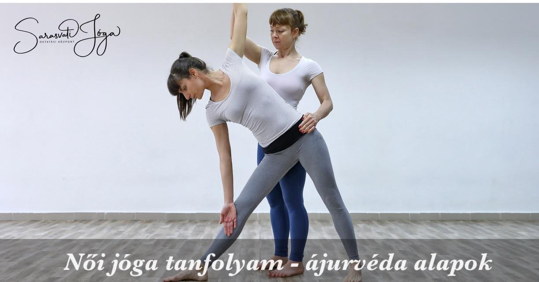 Női jóga tanfolyam – ájurvéda alapok