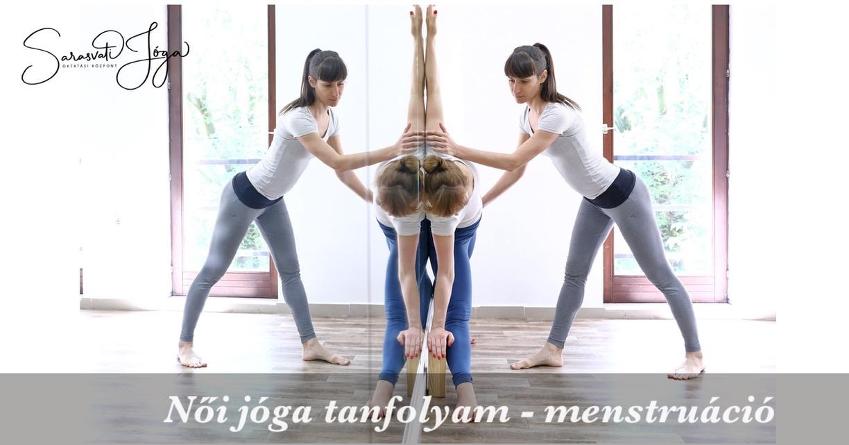 Női jóga tanfolyam – menstruáció