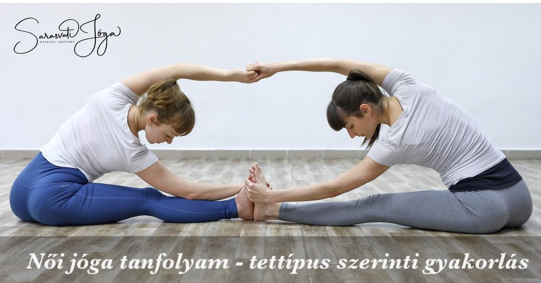 Női jóga tanfolyam – testtípus szerinti gyakorlás