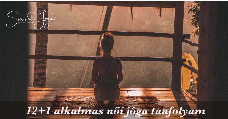 12+1 modulos női jóga tanfolyam oktatói végzettséggel