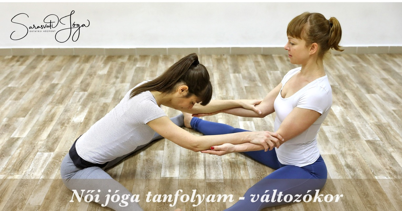 Női jóga tanfolyam – változókor
