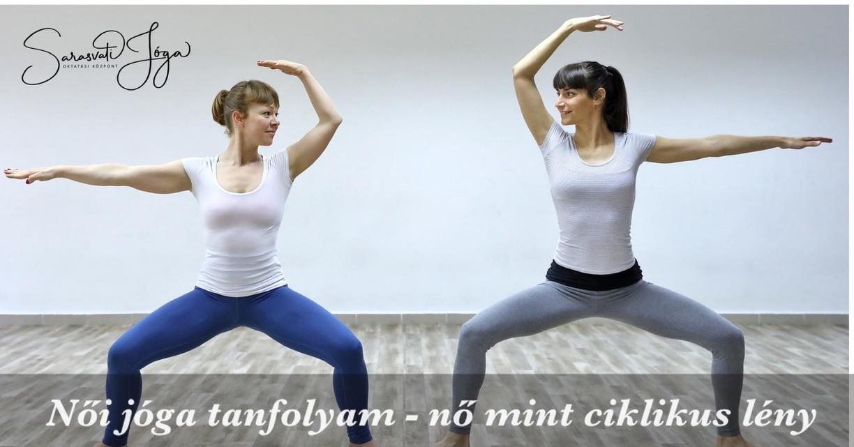 Női jóga tanfolyam – a nő, mint ciklikus lény