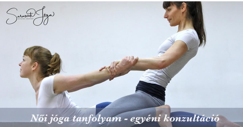 Női jóga tanfolyam – egyéni konzultáció